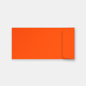 Pochette 115x225 mm skin orange