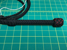 Load image into Gallery viewer, 4 Ft Black Bullwhip