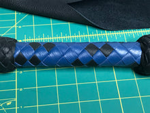 Load image into Gallery viewer, Black & Blue Dragontail
