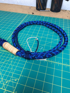 5 Ft. Blue Cow Whip