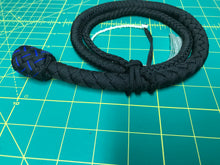 Load image into Gallery viewer, 3 Ft Black Snake Whip