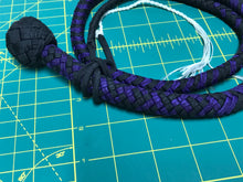 Load image into Gallery viewer, 3 Ft Purple & Black Snake Whip