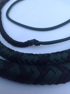 5 Ft. Black and Green Florida Cow Whip
