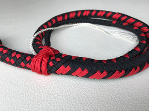 3 Ft. Red and Black Nylon Snake Whip