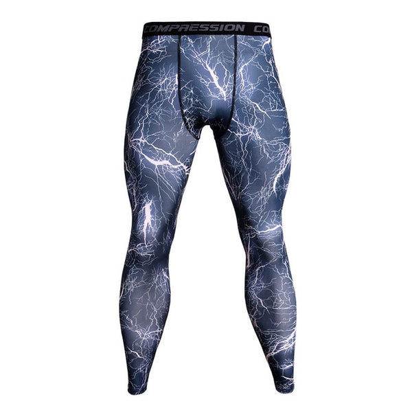Men's Pro Camouflage Compression Tights