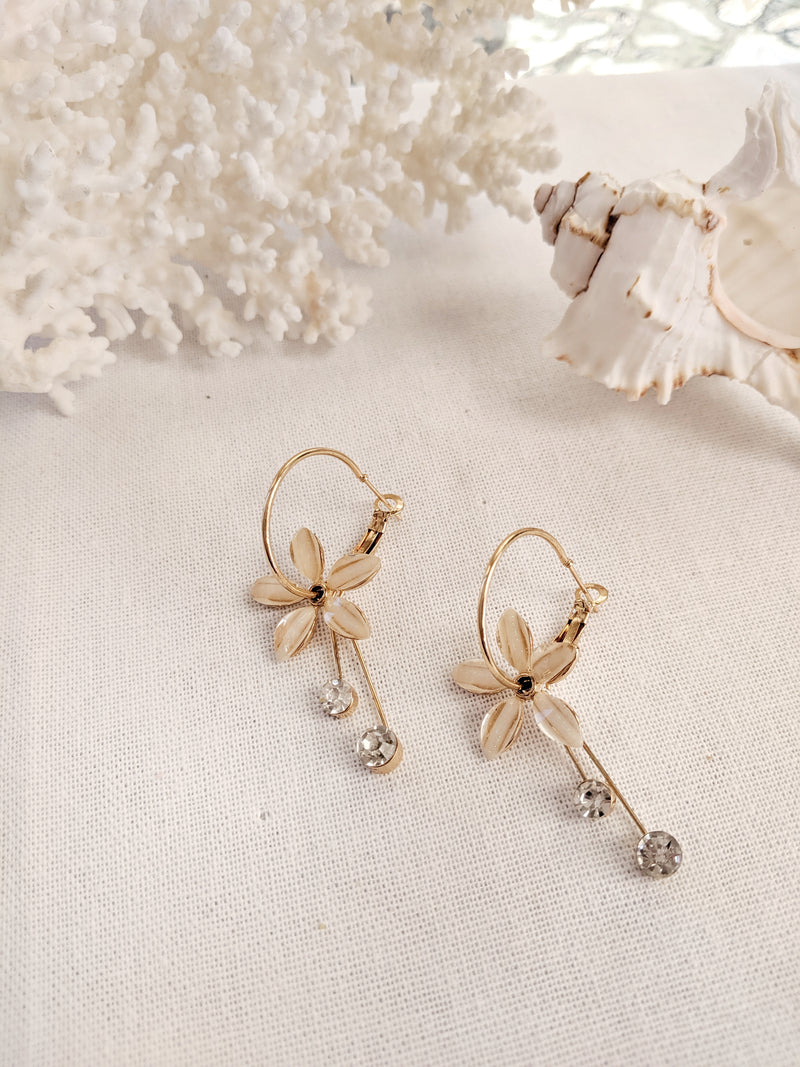 Lily Hoop Earrings