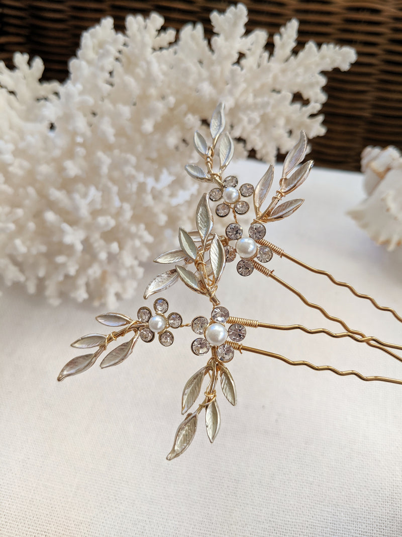 Alice Bridal Hair Pin (Set of 2)