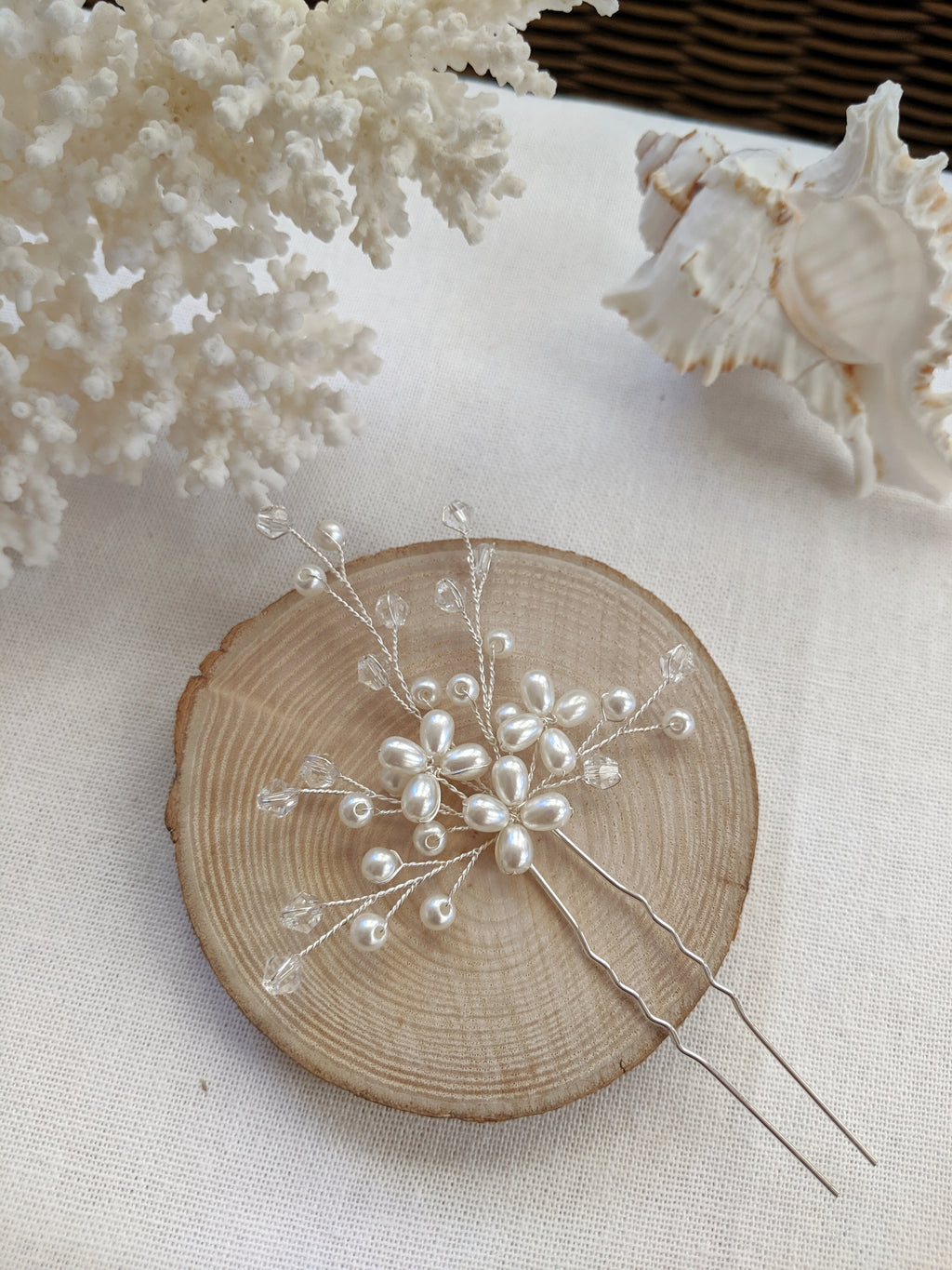 Eden Bridal Hair Pin