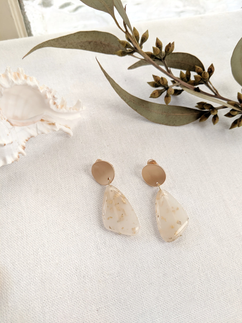 Ainsley Clip-on Earrings