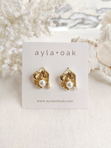 Esther Studs - Gold