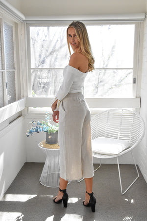 Tammy Off-shoulder Top - White