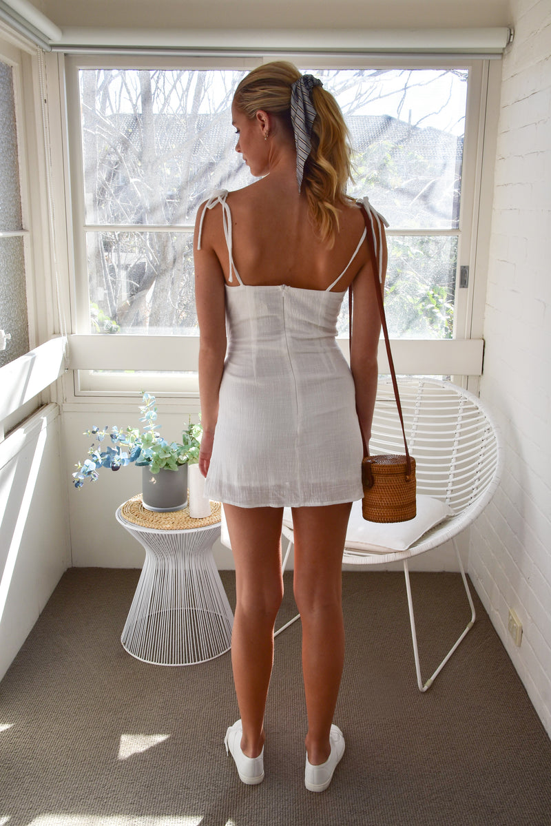 Keira Dress White