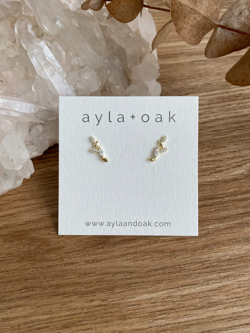 Phoebe Earrings - 14k Gold Plated