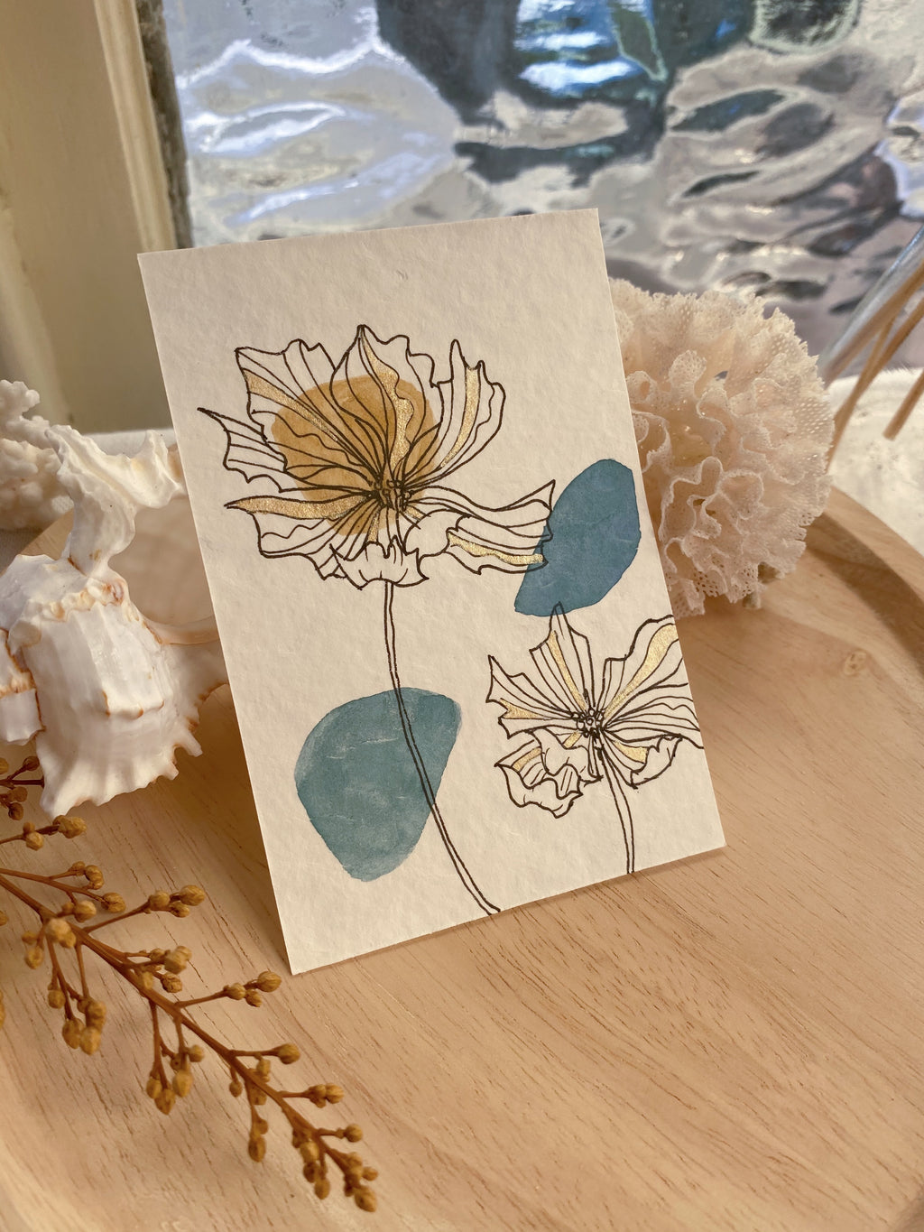 Ayla + Oak Botanical Prints - Design 11 (SOLD)