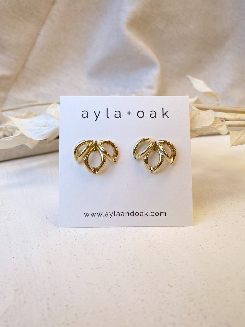 Carly Earrings - 14k Gold plated
