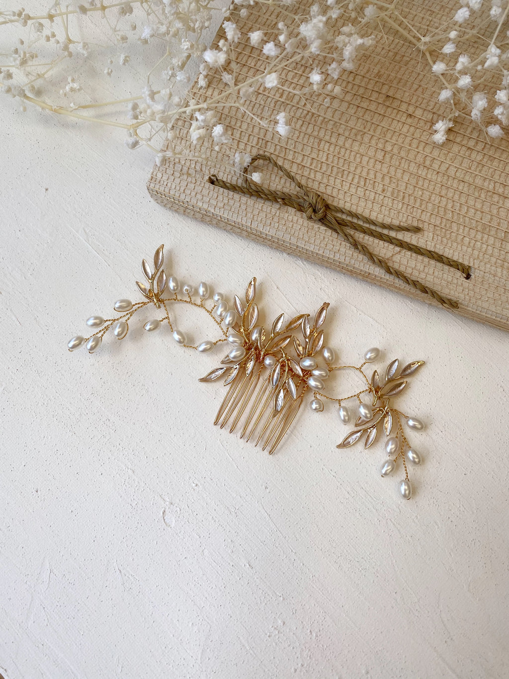 Willow Bridal Hair Comb