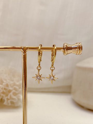 Maddie Earrings - 14k Gold Plated