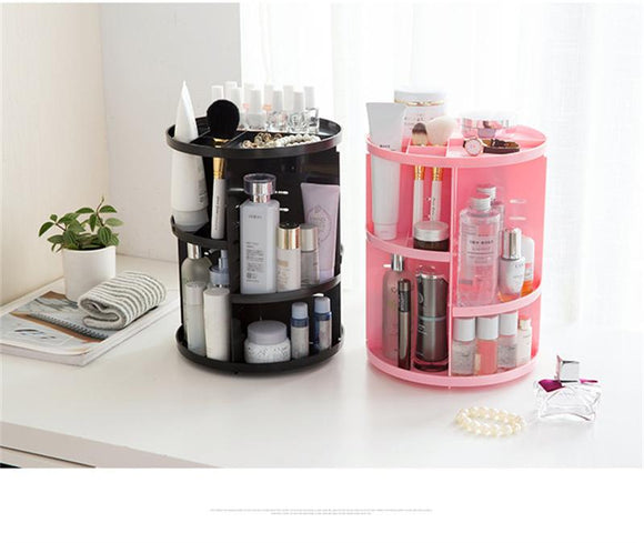 360 Rotating Make-Up Organizer | Organizer Storage Box | $34.98