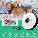 360° Wifi Panoramic Surveillance Camera | Camera Wireless | $52.00