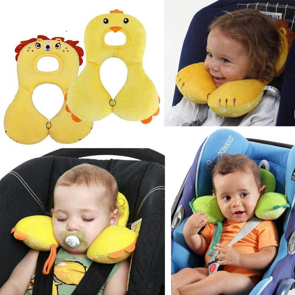 Baby Animal U-Pillow Headrest & Neck Protection | $14.02