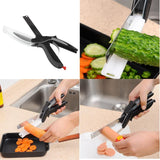 Clever Cutter 2 In 1 Cutting Board And Knife Scissors | Knife | $19.90