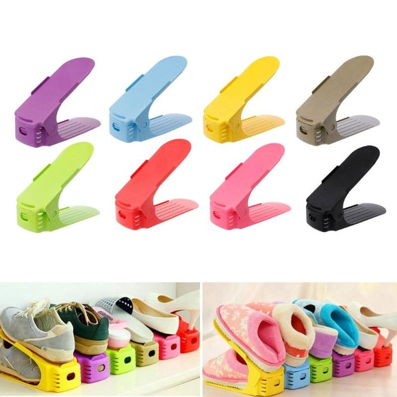 Double Smart Shoe Organizer | Closet Organizer Shoes | $7.38