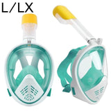 Full Face Snorkel Mask | Face Mask Snorkel Summer | $29.98