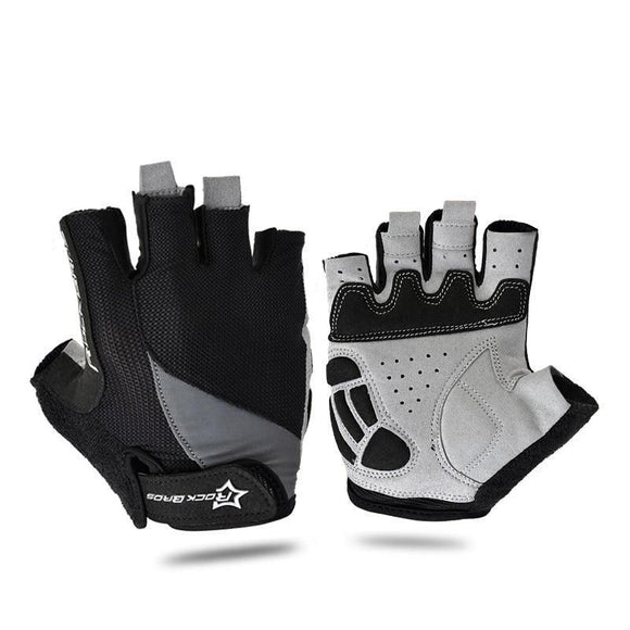 Shockproof Half-Finger Cycling Gloves | Cycling Gloves | $10.42