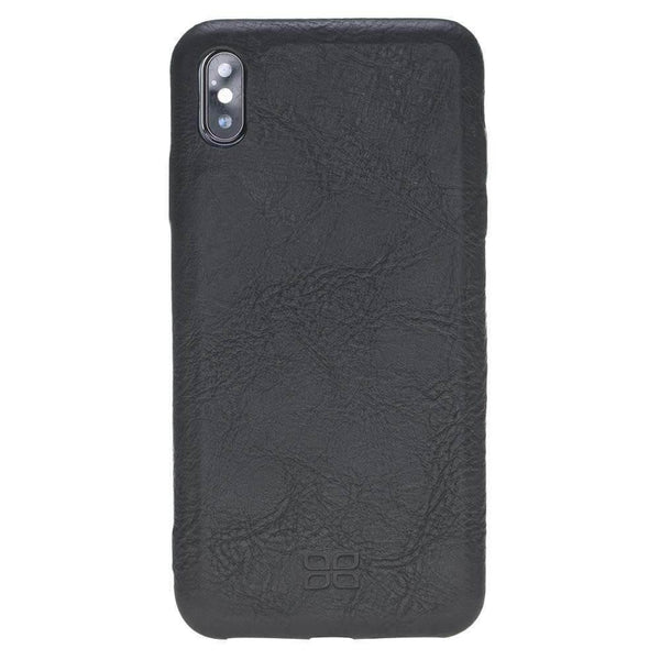 Leder Ultra Cover On Back Cover iPhone XS MAX - Vegetal Black