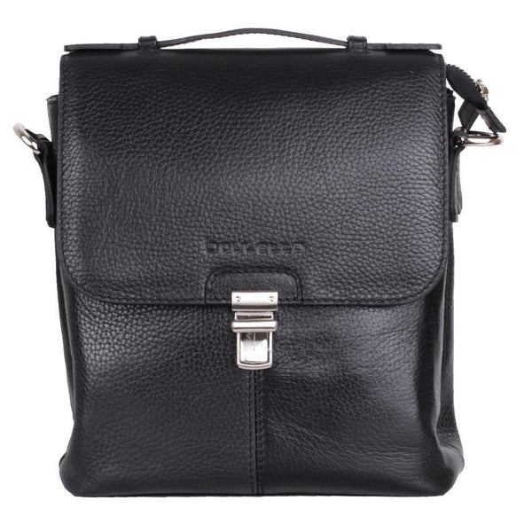 Scopri Leder Bag met Handle - Floater Black