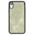 Flex Back Cover Leder Case Apple iPhone XR - Vegetal Water Green