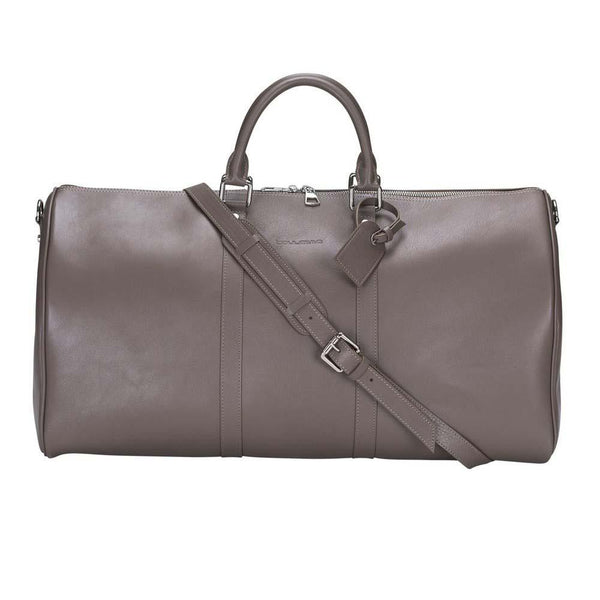 Caira Leder Travel Bag Medium - Mink