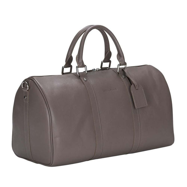 Caira Leder Travel Bag Large - Mink