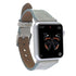 Leder Watch Slim Strap Apple Watch 38mm / 40 mm - Vegetal Cream