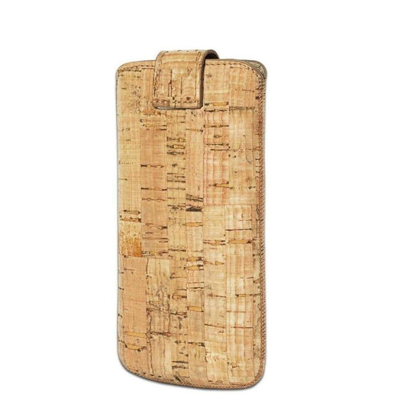 Insteekhoesje Leder Case iPhone 6/6S - Cork Yellow