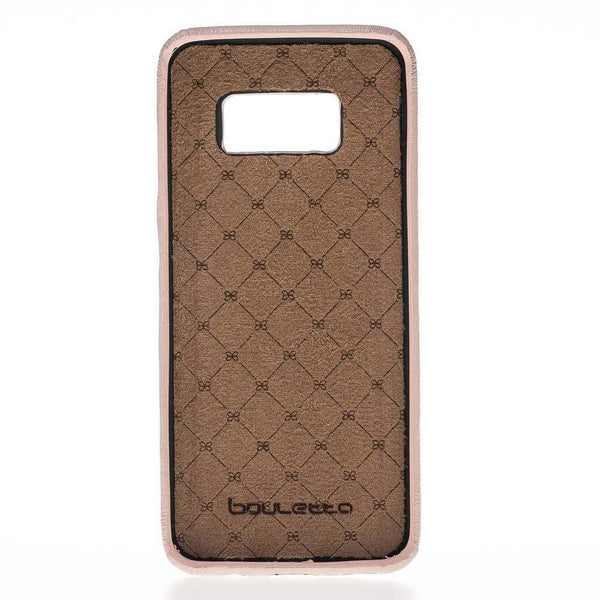 Leder Ultra Cover Snap On Back Cover Samsung S8 - NUDE
