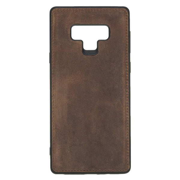 Magnetisch afneembaar Leder Wallet Case Samsung Note 9 - Antic Brown