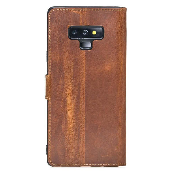 Wallet Folio Case met visible ID gleufje Samsung Note 9 - Vegetal Tan