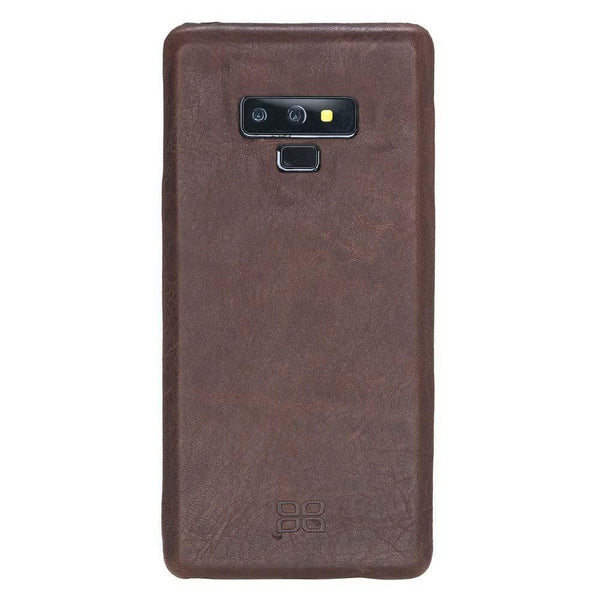 Ultra Magnetisch afneembaar Leder Wallet Case Samsung Note 9 - Vegetal Brown
