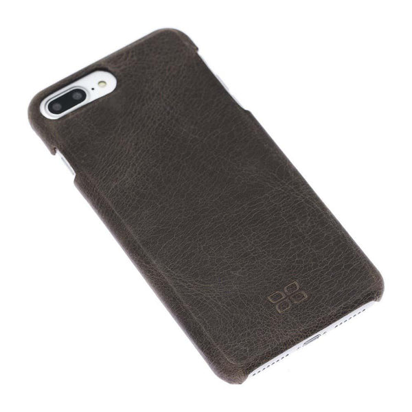 F360 Leder Back Cover Case Apple iPhone 7 Plus / iPhone 8 Plus - Rome Brown