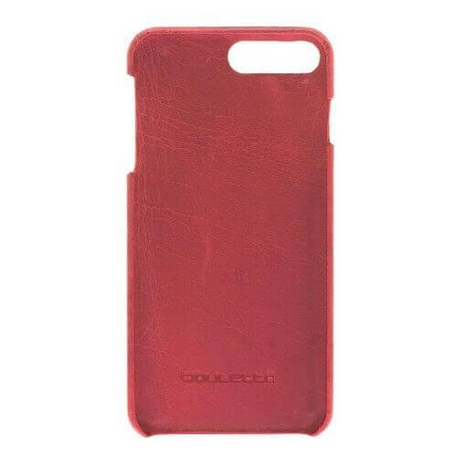 F360 Leder Back Cover Case Apple iPhone 7 Plus / iPhone 8 Plus - Rome Red