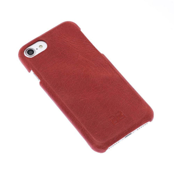 F360 Leder Back Cover Case Apple iPhone 7/8 - Rome Red