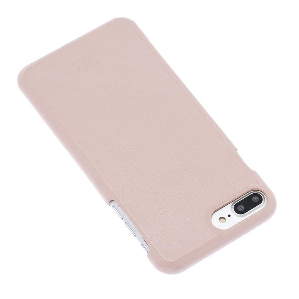 F360 Leder Back Cover Case Apple iPhone 7 Plus / iPhone 8 Plus - Nude Pink