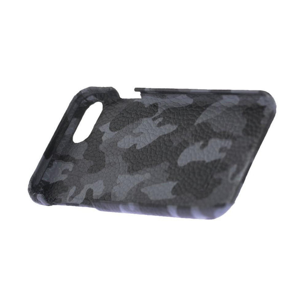 F360 Leder Back Cover Case Apple iPhone 7/8 - Camouflage Grey