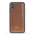 Flex Back Cover Leder Case Apple iPhone X in Vegetal Tan