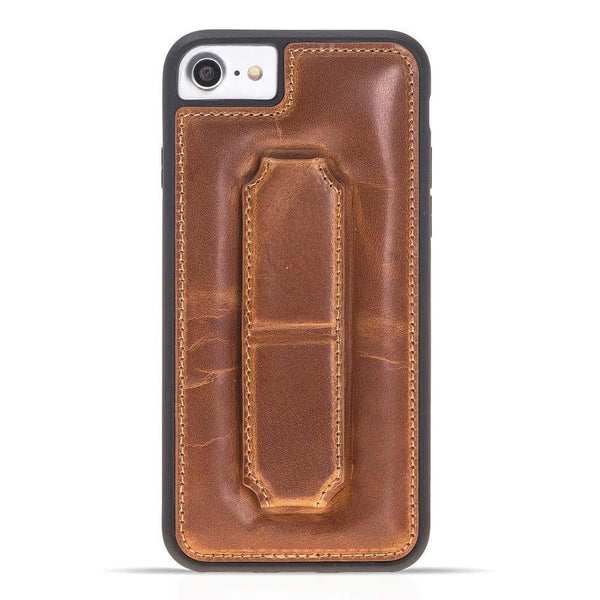 Flex Cover CES Leder Back Case Apple iPhone 7 / 8 in Vegetal Tan