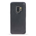 Leder Ultra Cover Snap On Back Cover Samsung Galaxy S9 - Vegetal Dark Blue