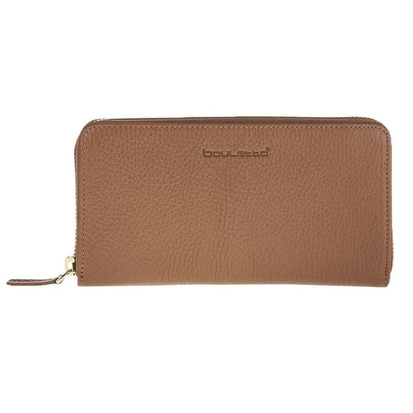 Seville Women's Leder Wallet - Floater Tan