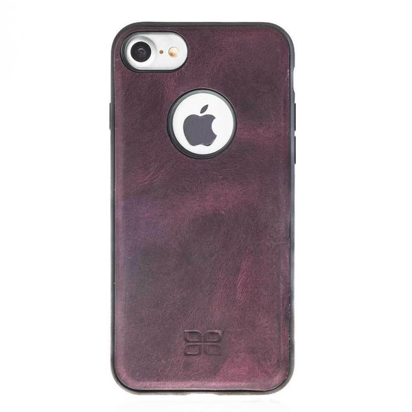 Magnetisch afneembaar Leder Wallet Case Apple iPhone 7/8 -  Antic Purple