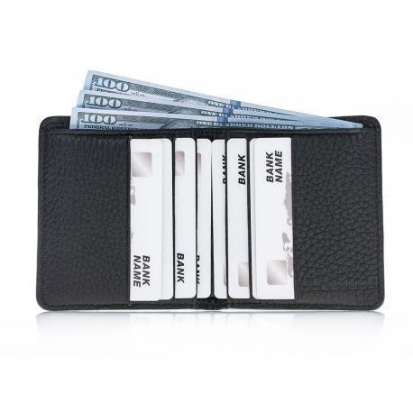 Aaron Leder Men Wallet - Floater Black